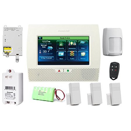 honeywell lynx touch l7000 gsm security alarm package with 4gl cellular communicator