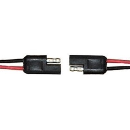 Awg Lead (CES 2 Pin Quick Disconnect Wire Harness SAE Connector Bullet Lead Cable (16 AWG), Available in 5 wire sizes: 18, 16, 14, 12 & 10 AWG By Femitu)