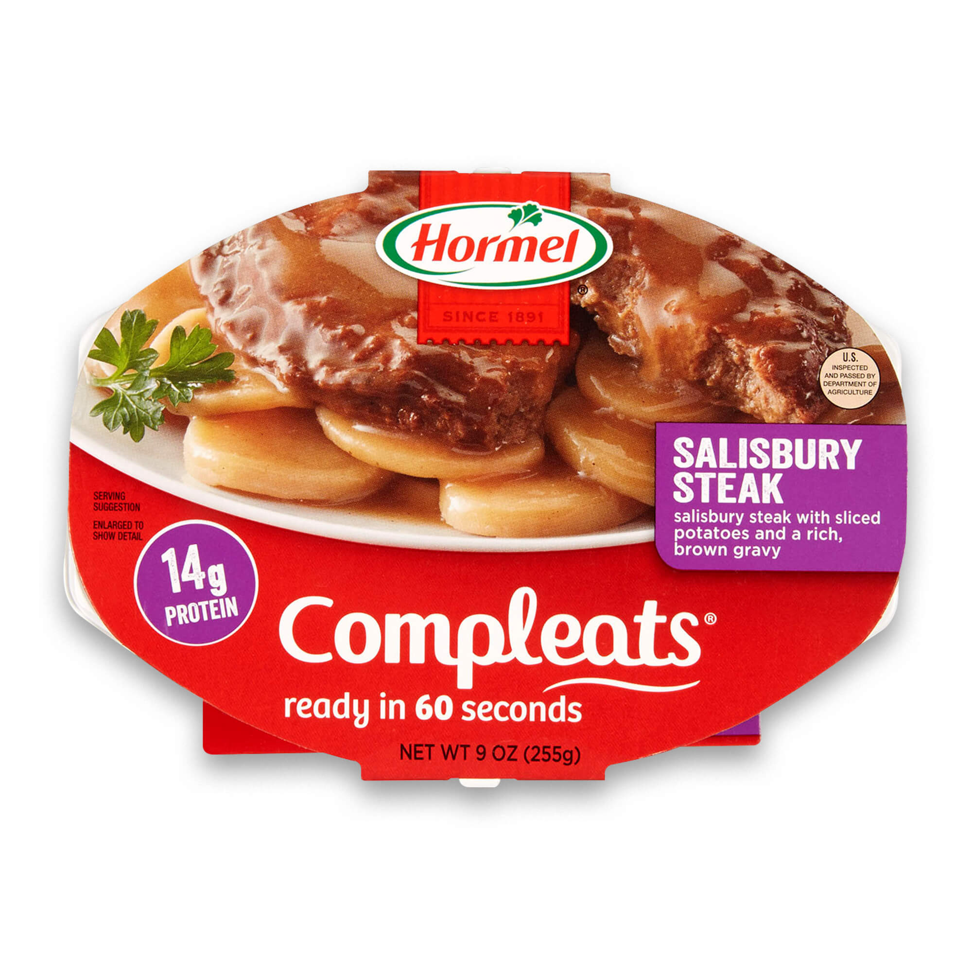 Hormel Compleats Salisbury Steak, 9 Ounce