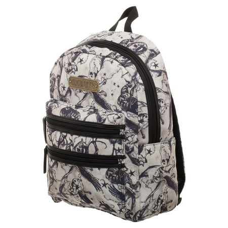 - Harry Potter Beasts Double Zip Backpack - Officially Licensed Harry Potter Backpack