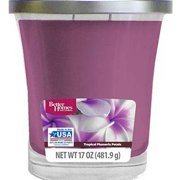 Better Homes and Gardens 17 oz Tropical Plumeria Petals Candle