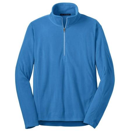 Port Authority Men's Lightweight Microfleece 1/2-Zip Pullover Microfleece 1/2 Zip Pullover