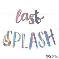 Last Splash Mermaid Bachelorette Garland