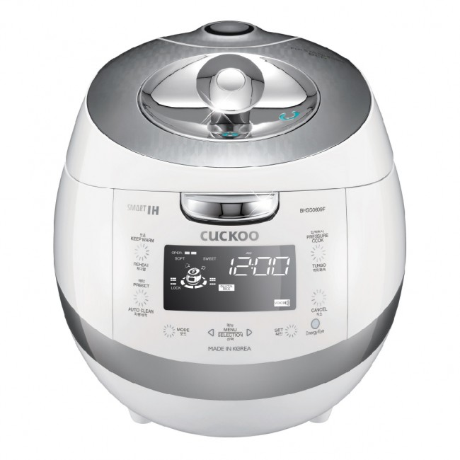Cuckoo Electric Induction Heating Pressure Rice Cooker CRP-BHSS0609F
