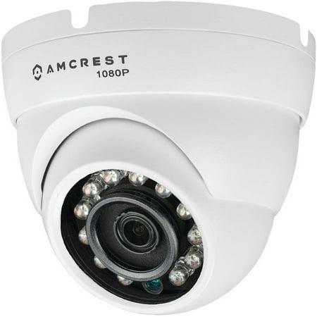 Amcrest AMC1080DM36-W 1080p HDCVI Standalone Dome Camera, White