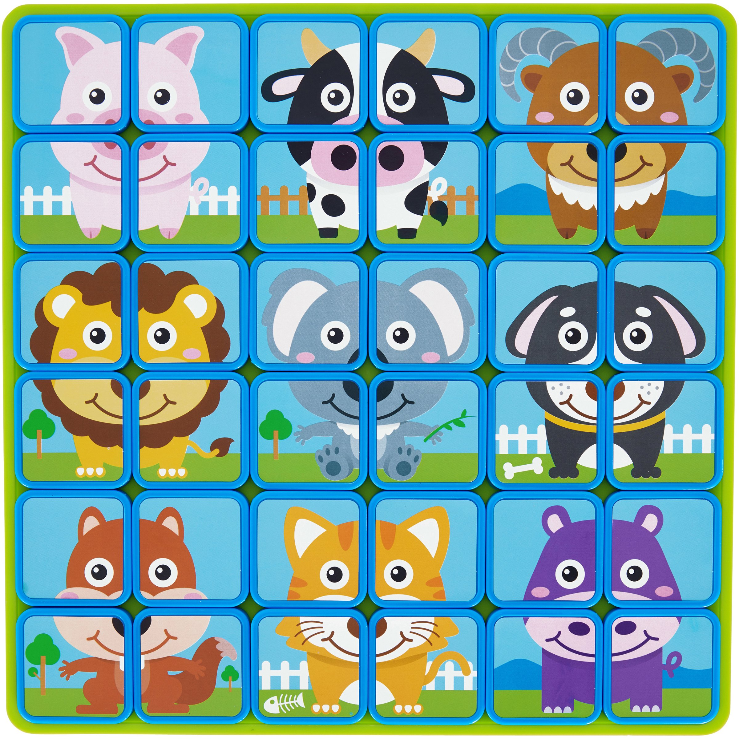 Spark. Create. Imagine. 37-Piece Animal Pictures Magnetic Puzzle, Designed for Ages 2 and Up