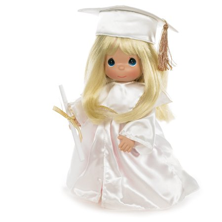 Precious Moments Dolls by The Doll Maker, Linda Rick, Graduate, Blonde, 12 inch doll