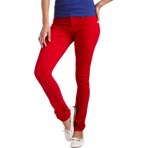 Red Rivet Juniors' Colored Skinny Jeans - Walmart.com