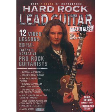 Guitar World -- Hard Rock Lead Guitar Master Class! : 12 Video Lessons from One of Today's Most Talented and Creative Pro Rock Guitarists,