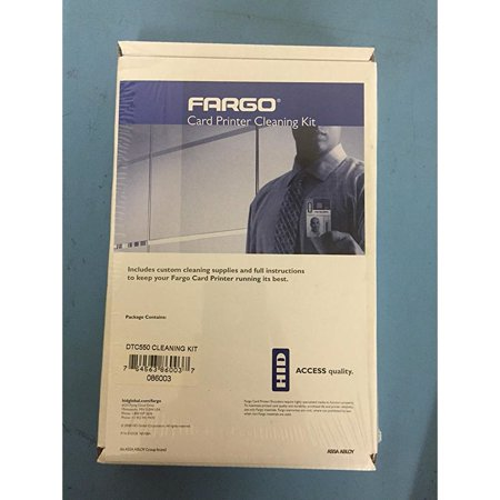 Fargo DTC550 Cleaning Kit - For Printer