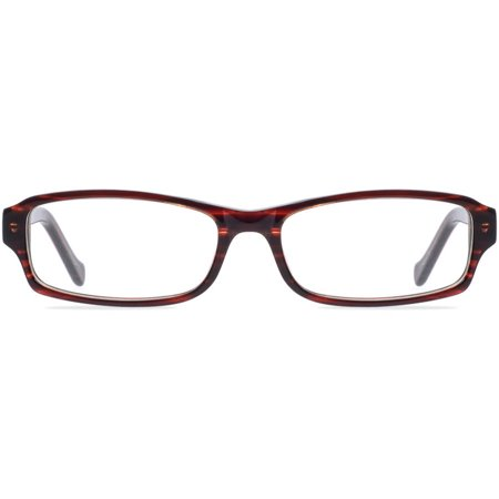 Contour Womens Prescription Glasses, FM11021 Brown (Prescription Eyeglasses For Women)