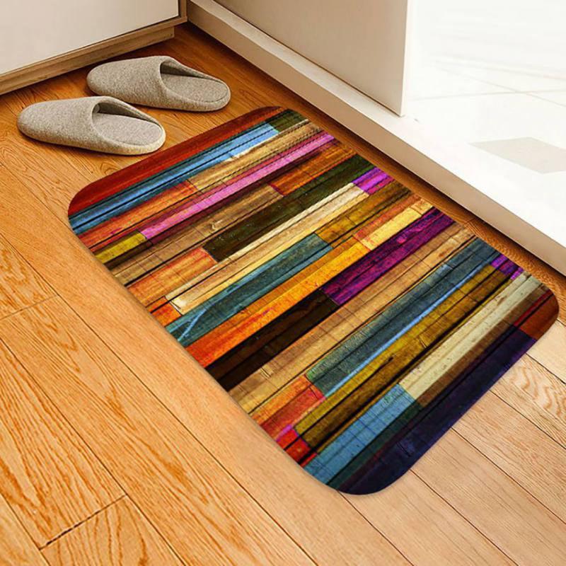 3d Printed Non Slip Flannel Fabric Rug, 3d Printed Laminate Flooring