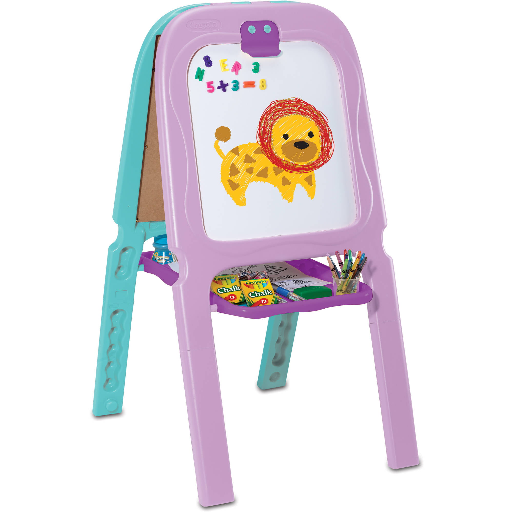 Crayola 3-in-1 Double Easel, Magnetic by Generic