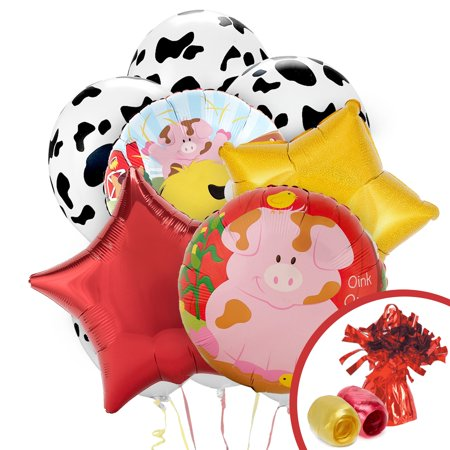 Barnyard Balloon Bouquet - Barnyard Animals Party