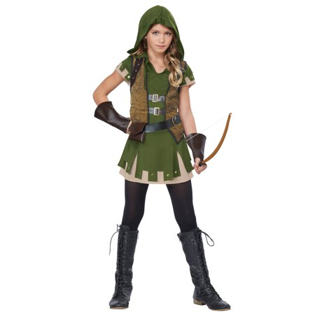 Robin Costume For Girls (Tween Miss Robin Hood Costume)