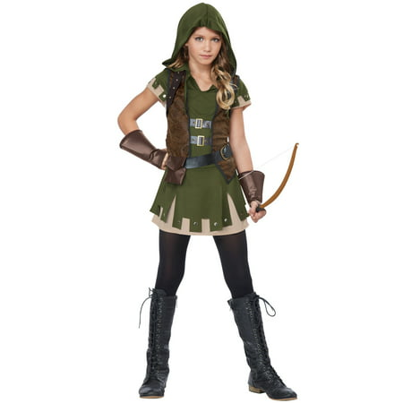 Tween Miss Robin Hood Costume - Tween Steampunk Costume