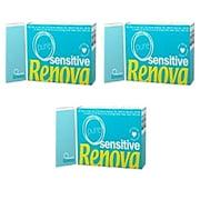 Renova Sensitive Pocket Tissues- Pure (Pack of 3)