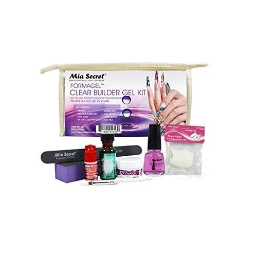 Mia Secret Clear Builder Gel Kit 8 pcs (KIT-06)