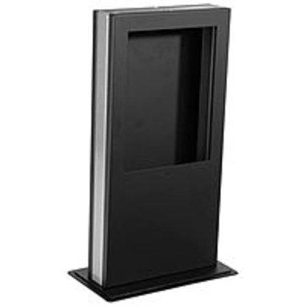 Refurbished Peerless-AV KIP4101 Desktop Kiosk Stand for iPad - Black (Ipad Kiosk Desk Stand)