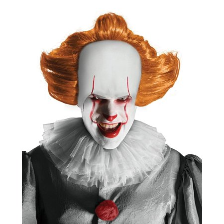 It The Clown Scary Pennywise Costume Makeup Kit - Scary Halloween Makeup For Men