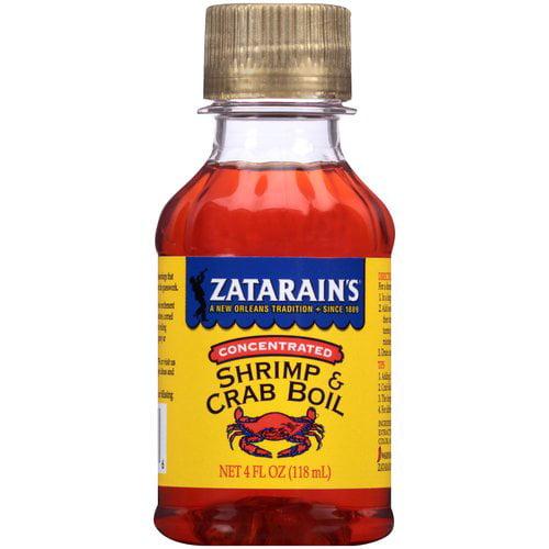 Zatarain's Shrimp & Crab Boil, 4 fl oz