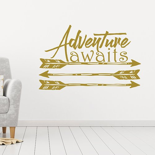Harriet Bee Bayerl Adventure Awaits Wall Decal