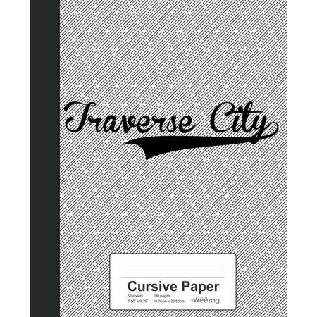 Halloween Store Traverse City (Cursive Paper: TRAVERSE CITY)