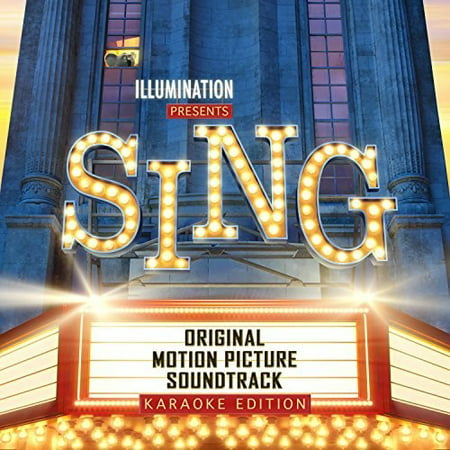 Sing Soundtrack (Karaoke Edition) (CD) - Halloween Sing Along Cd