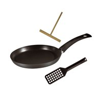 """Berndes  Specialty Crepe Pan 9.5"""" with Tools"""