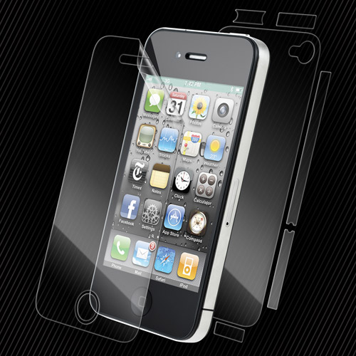 Zagg Invisible Shield Full Body Screen Protector for iPhone 4/4S - Clear