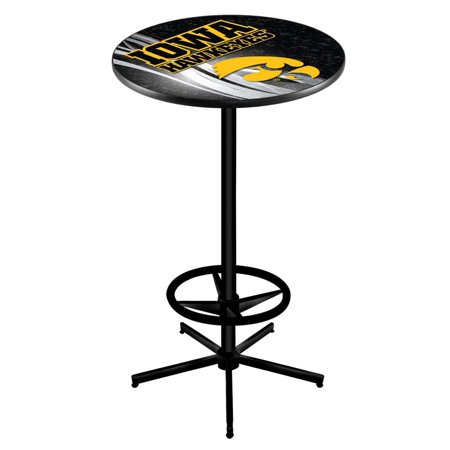 Iowa 42 Inch High 36 Top Black L216 Pub Table