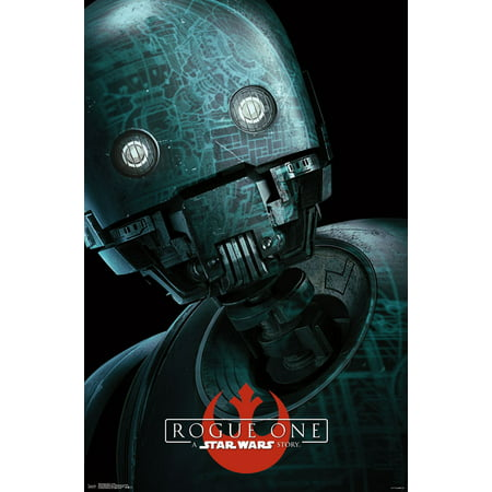 Trends International Star Wars Rogue One Droid Wall Poster 22 375