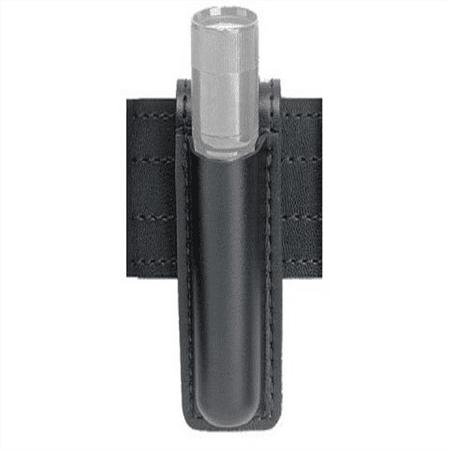 Safariland 306 Mini Flashlight Carrier (Safariland 306 Open Top Mini Flashlight Carrier, Basketweave Black, SureFire 6P, Basketweave Black)