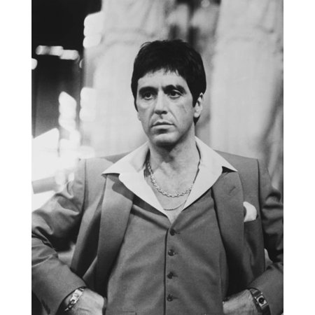 Al Pacino in Formal Outfit, Hands on Waist Print Wall Art By Movie Star News - Movie Star Outfits