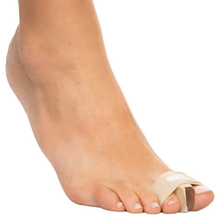 ZenToes Bunion Toe Separator Wraps Relieve Pain from Bunions and Hammer Toes | Correct, Straighten and Align Big Toe, Avoid Surgery - 1 Pair (2 Count)
