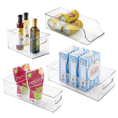 InterDesign Fridge and Freezer Storage Bins 4-piece