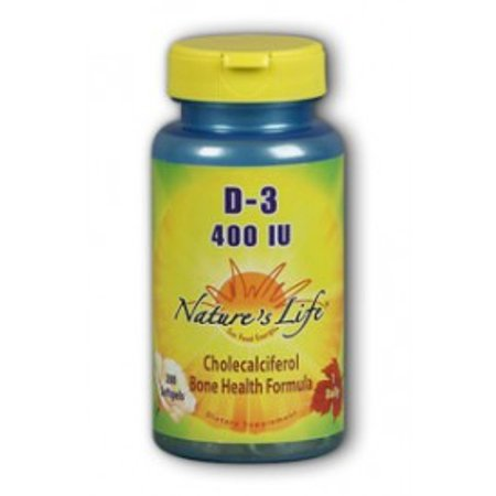Vitamin D3 400 IU Nature