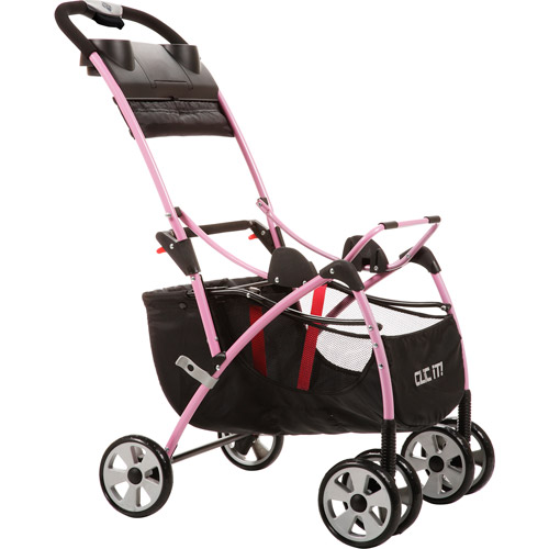 Safety 1st - Clic It Infant Seat Carrier Stroller, Pink
