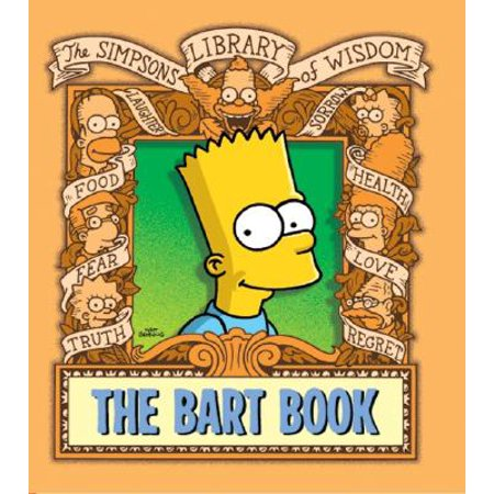 Simpsons Library of Wisdom: The Bart Book (Hardcover) - Bart Simpson As A Baby