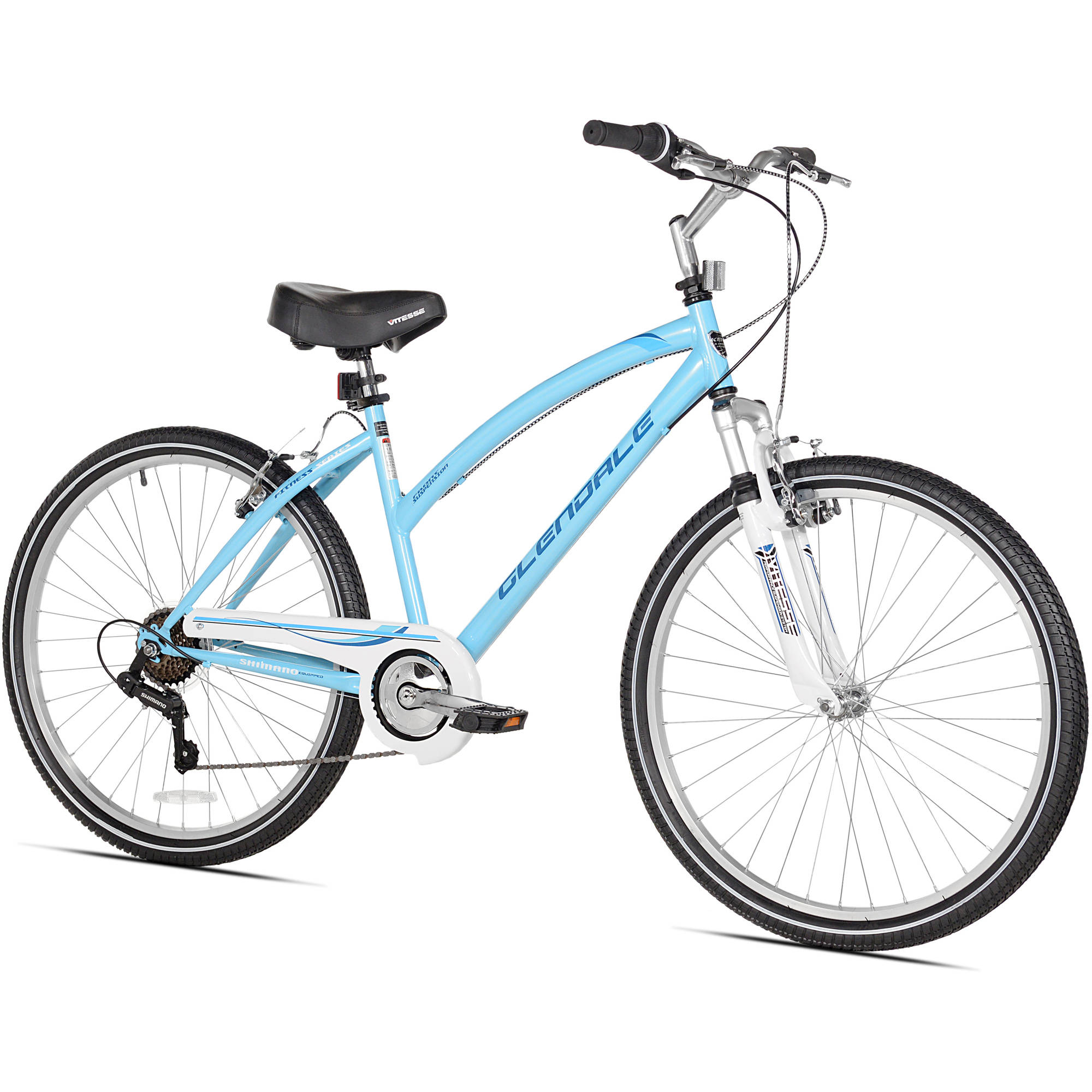 "Kent 26"" Women's, Glendale Cruiser Bike, Blue"