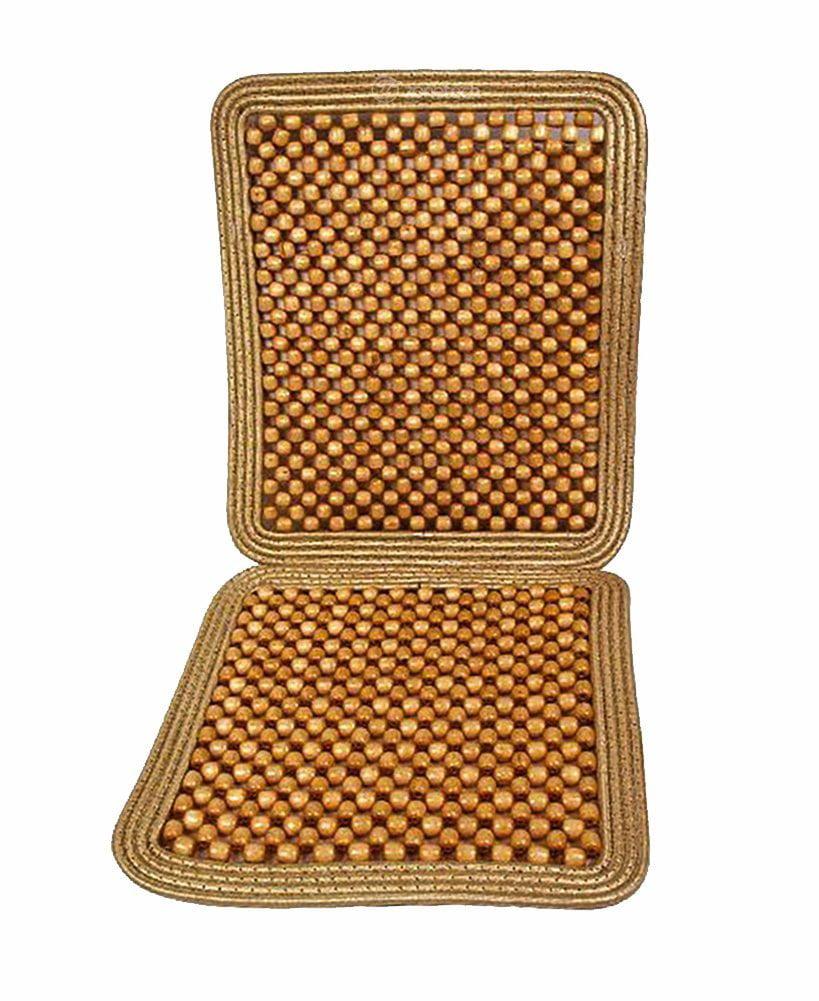 Zone Tech Natural Beaded Seat Cushion