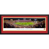 Iowa State Football - 50 Yard Line - - Blakeway Panoramas Prints with Deluxe Frame and Double Mat