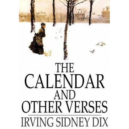 Verse Calendar (The Calendar and Other Verses - eBook)