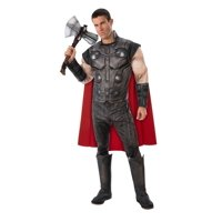 Black and Red Thor Avengers Men Adult Halloween Costume - Standard