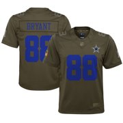 Dez Bryant Dallas Cowboys Nike Youth Salute to Service Game Jersey - Olive