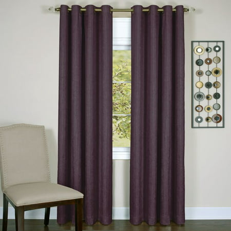 Achim Taylor - Lined Grommet Window Curtain Panel