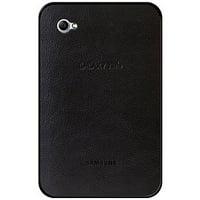 Samsung Galaxy Tab Case, Leather Hard Protective Cover Snap On Back Case for Samsung Galaxy Tab SGH-I987 - Black