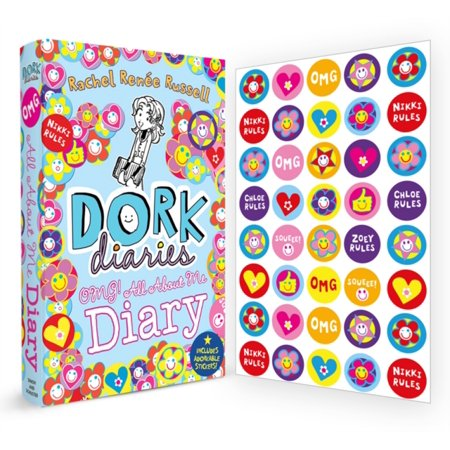 Dork Diaries OMG: All About Me Diary! - All About Me Paper