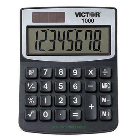 4 1 4   Mini Desktop Calculator  Victor  1000