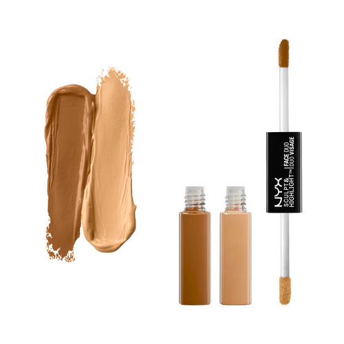 (3 Pack) NYX Sculpt & Highlight Face Duo 05 Chestnut / Sand
